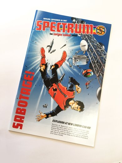 Mike Noble Lee Sullivan Captain Scarlet cover