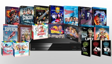 A huge selection of prizes for the massive Gerry Anderson giveaway 2019