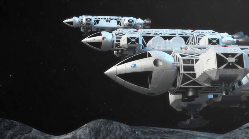 The iconic Eagle spacecraft will feature in the Space 1999 audio drama