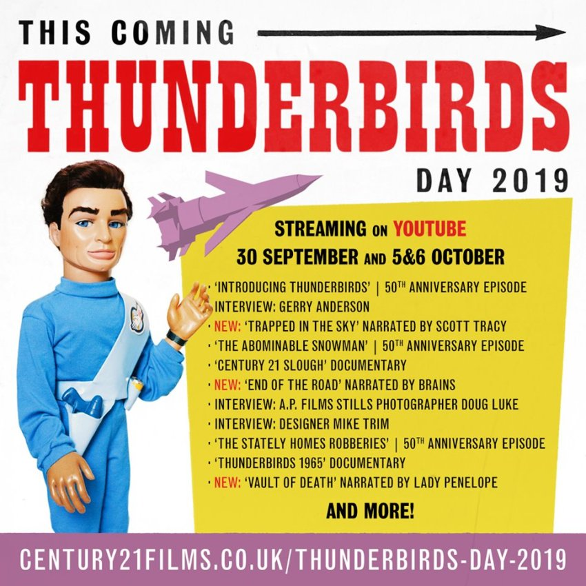 Thunderbirds Day 2019 line-up