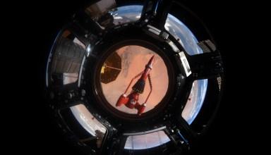 Thunderbird 3 in space