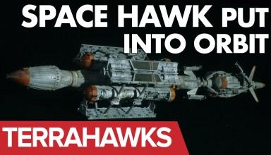 Terrahawks spacehawk launched into orbit