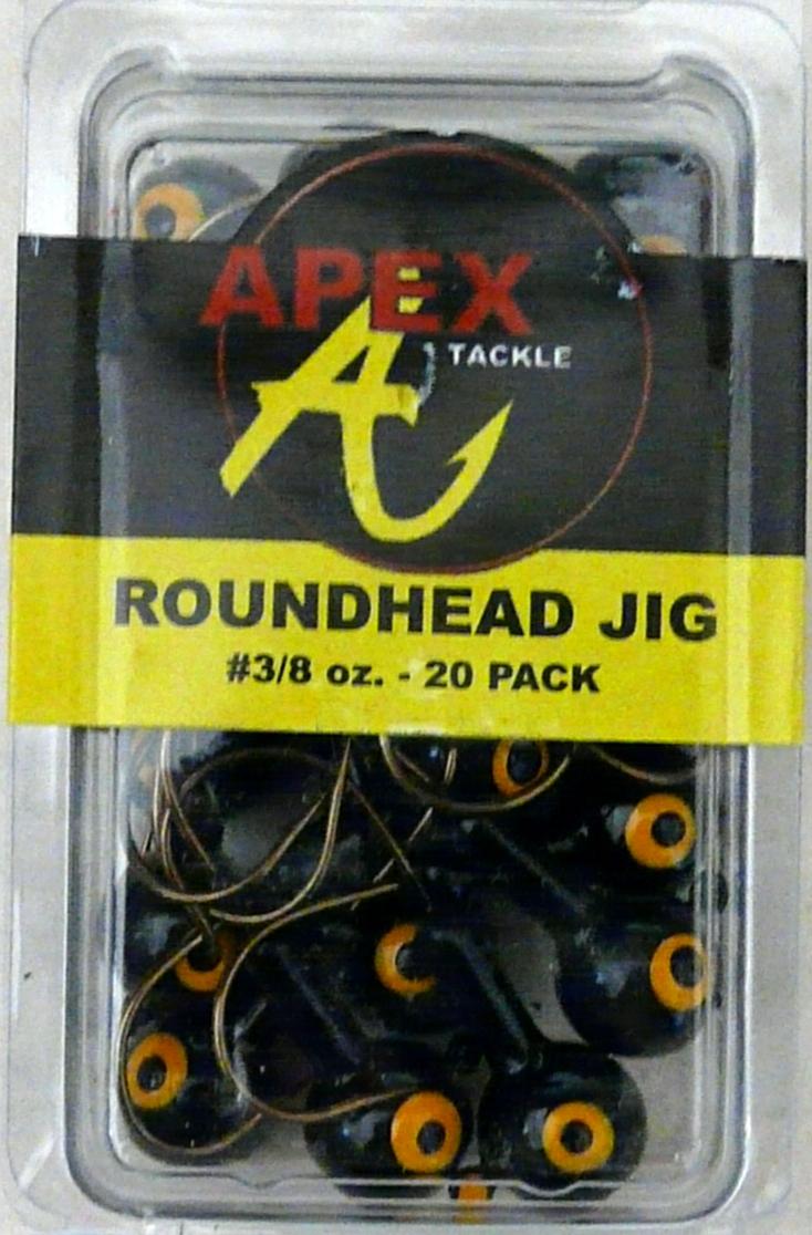 2 Packs Matzuo SSMJ138-3 Boshi Sickle Jigheads 3//8 Oz Chartreuse 4//0 Jig Heads