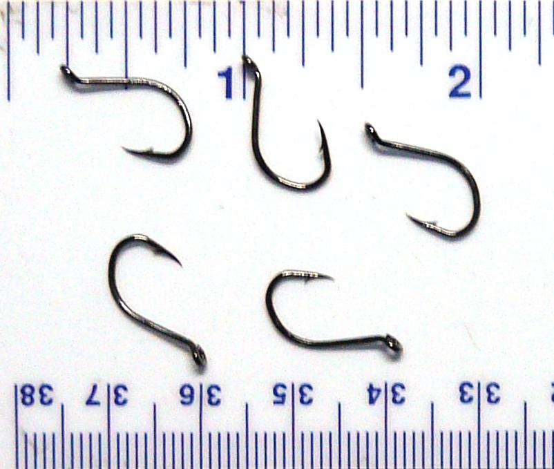 100 Danielson HCBOR Red Chrome Octopus Fish Fishing Hooks size 6-100 hooks