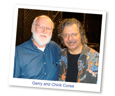 Gerry and Chick Corea