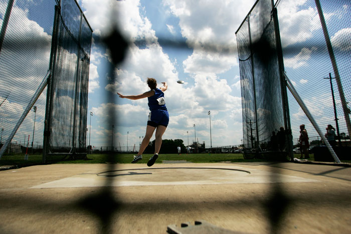 Discus thrower - ©2009 Max Gersh