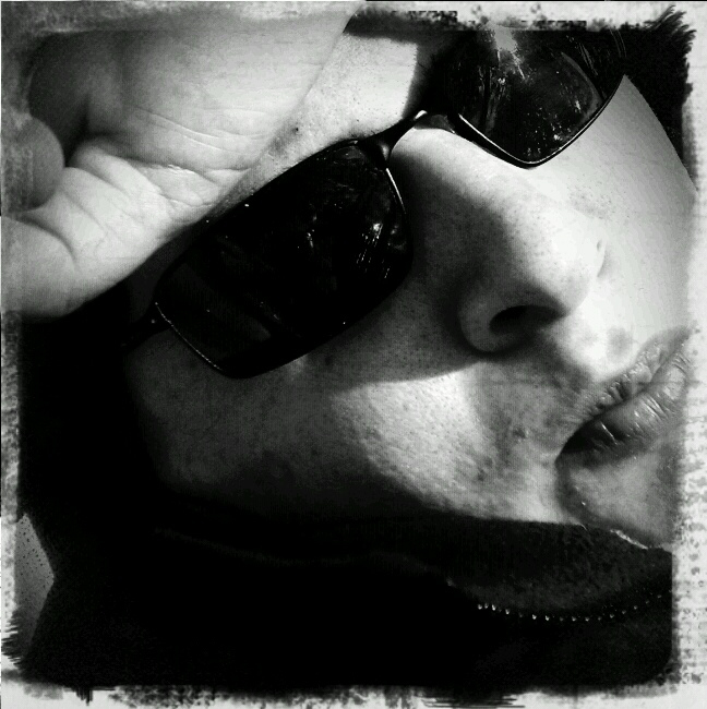 A camera-phone self portrait. ©2010