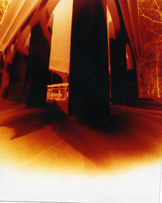 Color 4x5 image shot on Fuji Crystal Archive paper in a pinhole camera. ©2011 Max Gersh