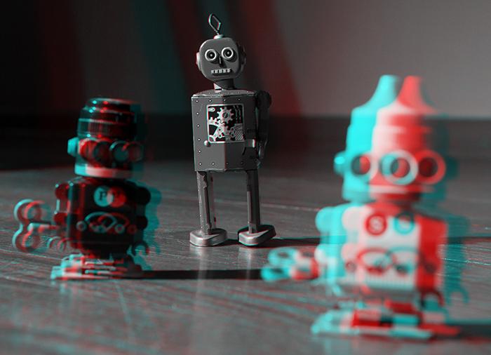 Robots. ©2014 Max Gersh