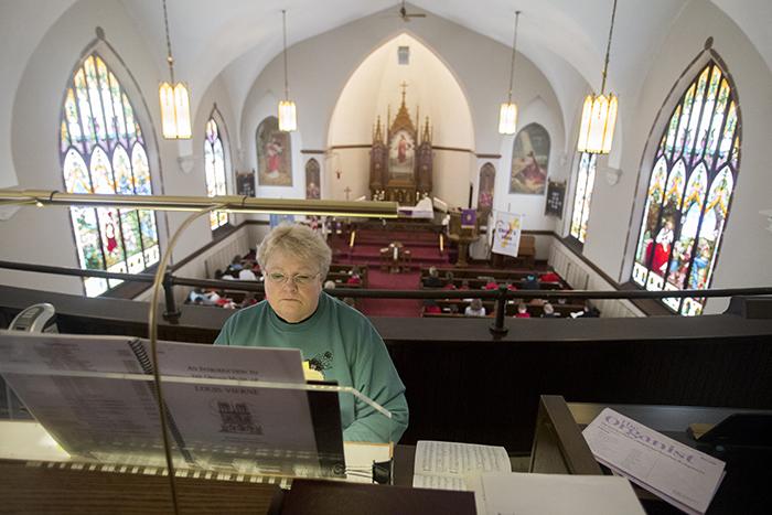 Ash wednesday organist