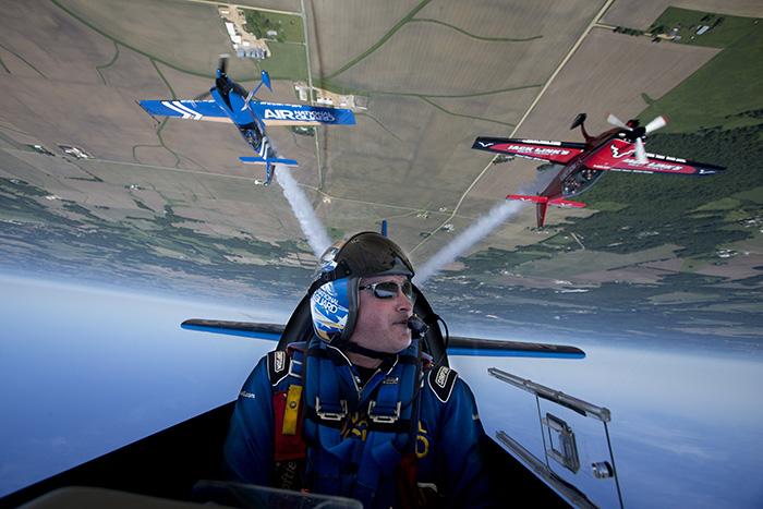 Air National Guard aerobatic team
