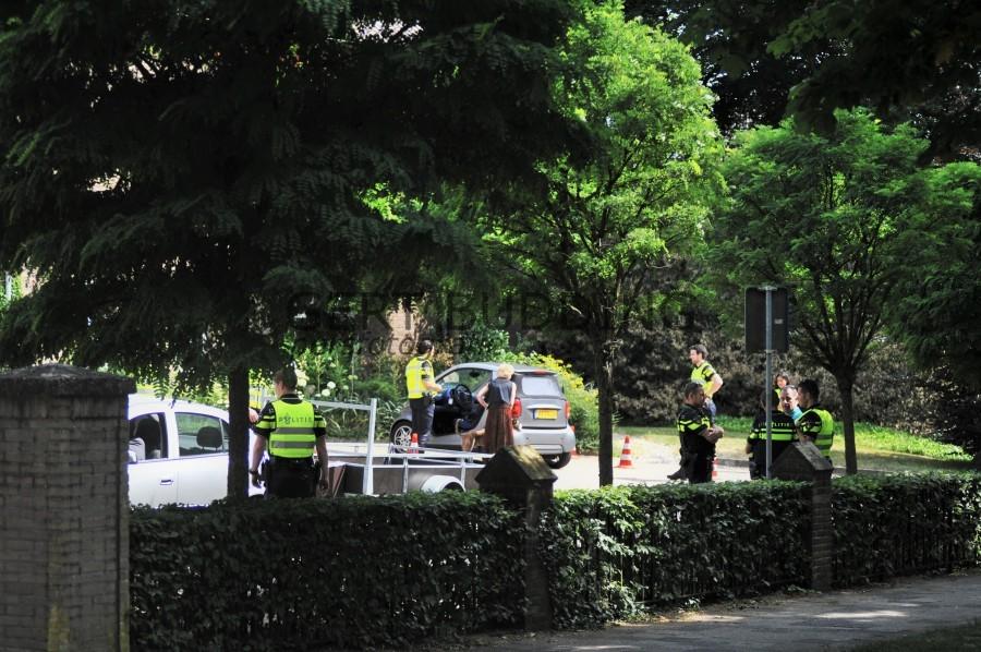 Studenten politieacademie Midden Gelderland actief in Renkum