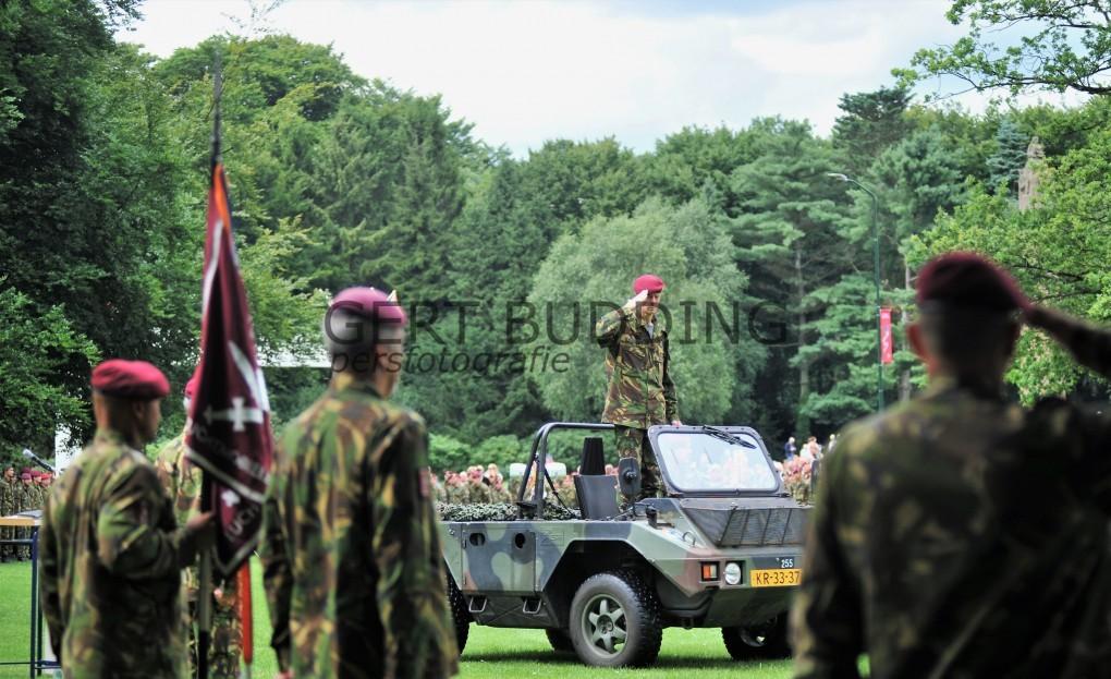 Generaal-Majoor Matthijssen draagt commando over