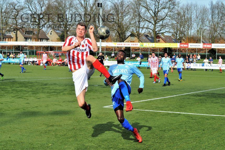 Mooi weer voetballers Bennekom winnen van Sliedrecht