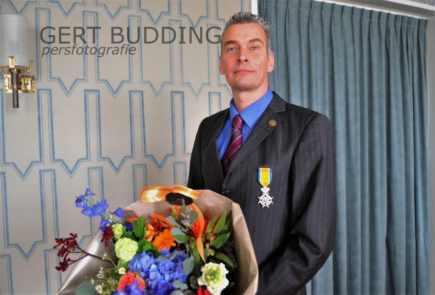 Renkumer Jacob van Genderen Ridder in de Orde van Oranje-Nassau