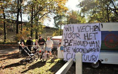 Woonwagenkampbewoners Renkum pikken het niet langer