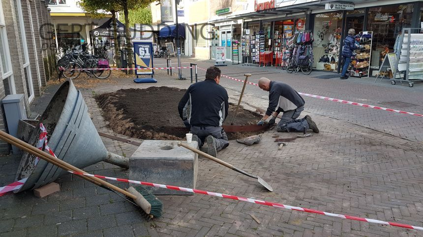 Everts&Weijman maken dorpsstraat Renkum kleurrijker en groener