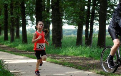 Loopwonder Celine Struijve (6 jaar) eerste op WodanRun