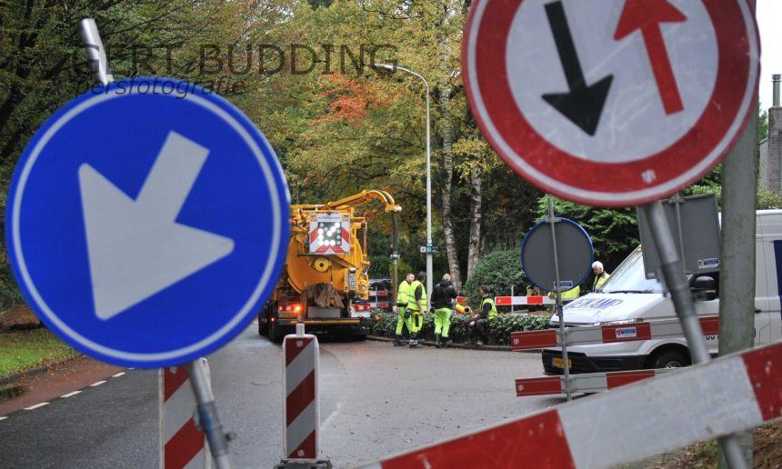 Geen gas en water na lekkage voor 65 huishoudens Doorwerth