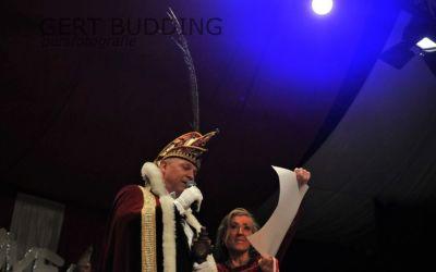 Prins Pascal d'n Eerste en hofdame Wilma nieuw prinsenpaar De Dolle Instuivers