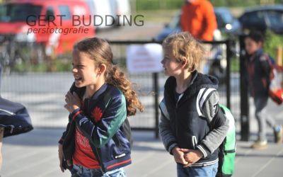 Basisschool De Keijenberg opent vandaag deuren. Kinderen blij, evenals ouders