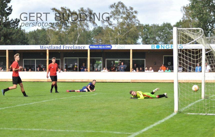 CHRC verpulverd in bekertreffen Harskamp met 6-1. Drie gave goals Lenie Onderstal.