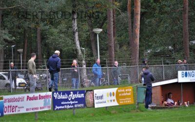 Ook geen publiek Wilhelminasportpark bij wedstrijd CHRC tegen DFS Opheusden: 1-1.