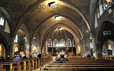 Sobere Maria bedevaart RK kerk Renkum verwarmt met straalkachels