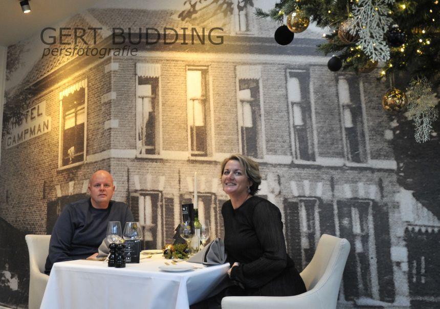 Restaurant Campman: een bewogen jaar met cijfertjes. Bestaat bijna 170 jaar, na 31 jaar weer met Kerst open, chef-kok vertrek na 46 jaar en vijfde generatie zet bedrijf voort.