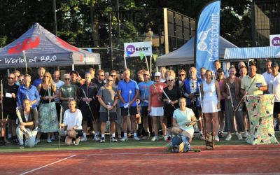 Prima afsluiting open tennis- en padeltoernooi op 'Bakkershaag-boulevard'