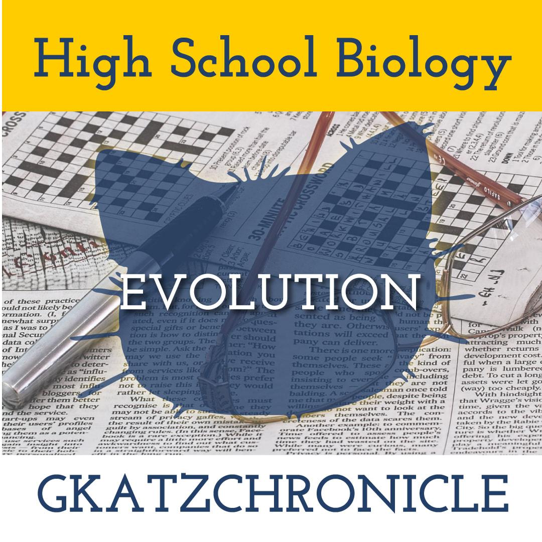Evolution Review Crossword