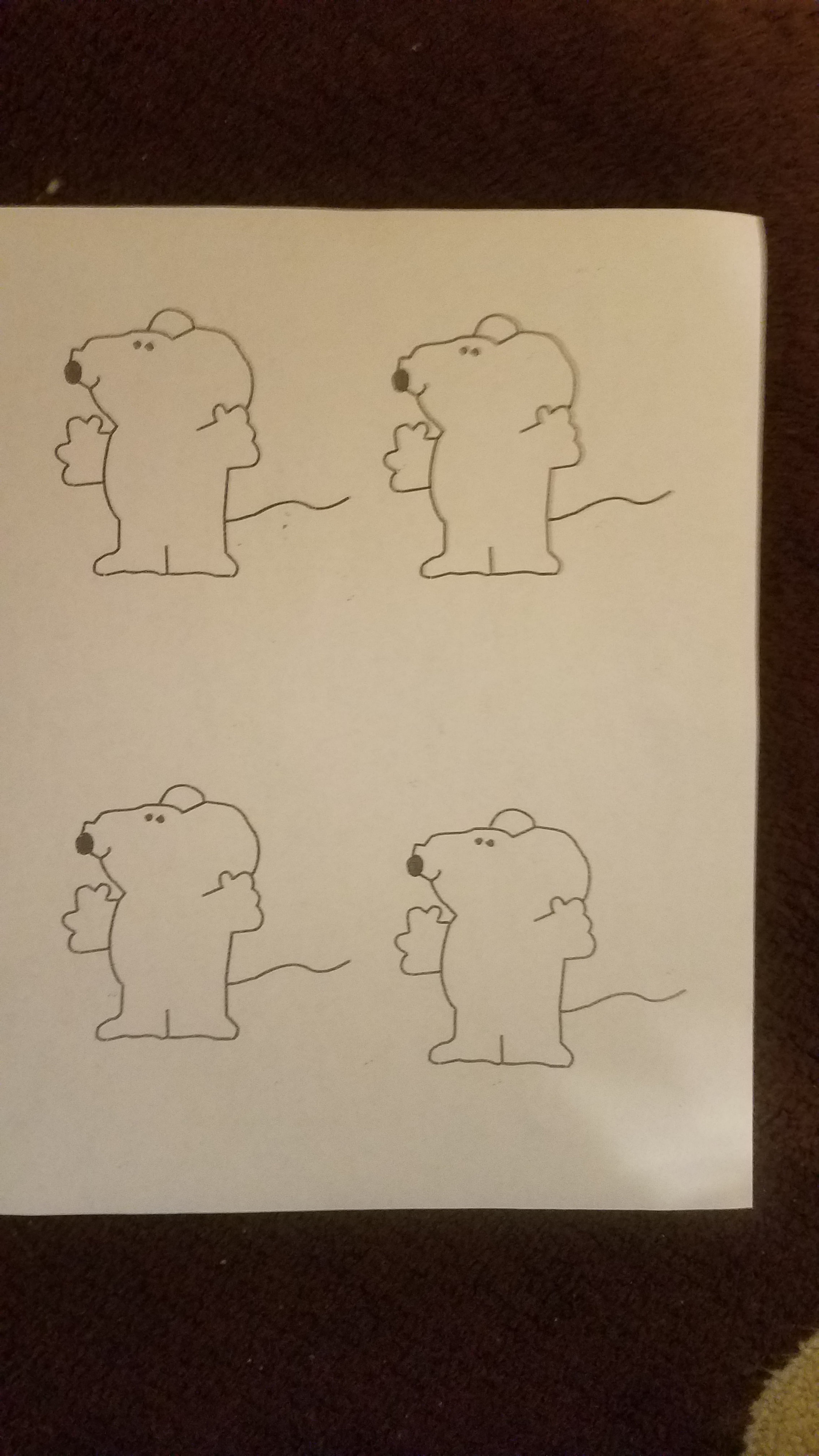 Mice Drawings For Relative Frequency Activity