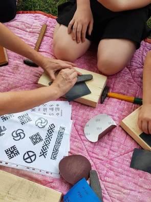 Edukacija - talismanų kalimas