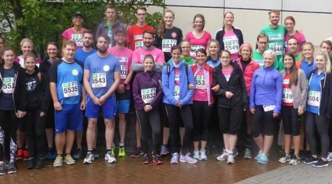 Running in the Rain – die GEE beim Schüler- und Firmenlauf