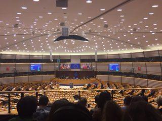 Plenarsitzung im EU Parlament