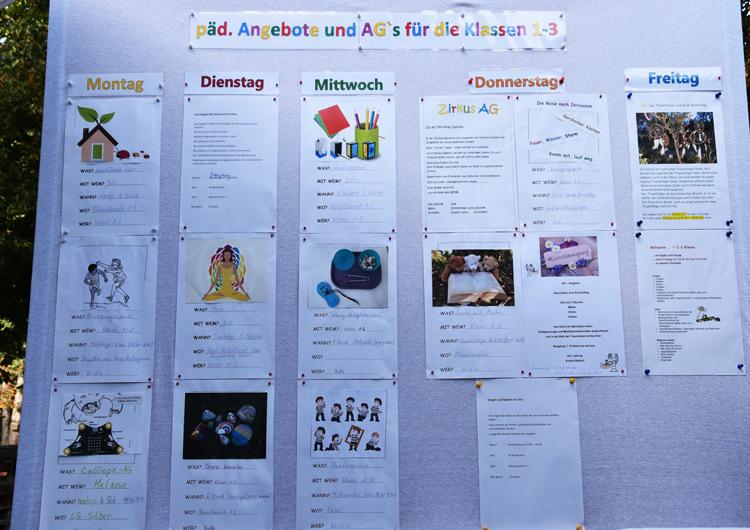 Montessori Grundschule_Angebote und Arbeitsgemeinschaften