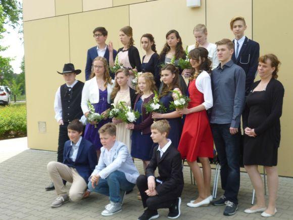 Gesamtschule Petershagen_Jugendweihe 2016_Klasse 8d
