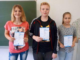 Kaenguru-Wettbewerb 2016_Nele Schwalbe, Christoph Boyé und Maria Brendle