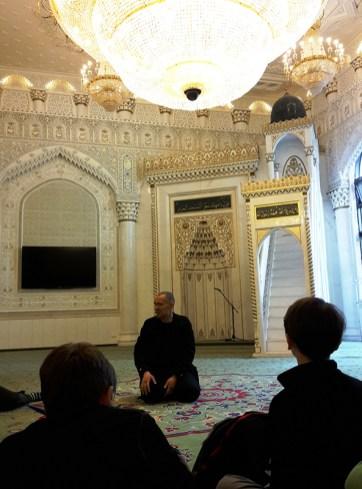 Gesamtschule Petershagen_Exkursion zur Moschee in Berlin Kreuzberg_Fragerunde 2