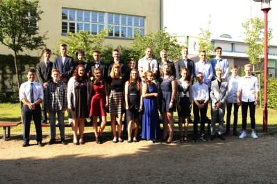 Gesamtschule Petershagen_Abschlussklasse 10a_SJ 2016-17