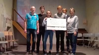 Gesamtschule Petershagen_Run for Help-Erlöse für Dorfsaal Petershagen gespendet_1