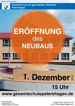 Gesamtschule Petershagen_Eröffnung unseres Neubaus am 1. Dezember 2018