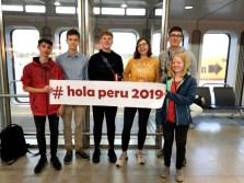 Gesamtschule Petershagen_Abenteuer Peru_Deutsche Gruppe in Tegel_Juli 2019