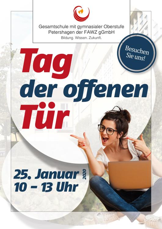 Gesamtschule Petershagen_Tag der offenen Tür am 25. Januar 2020