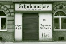 Schuhmacher Richard Pasch: 1020 Wien, Vereinsgasse 17