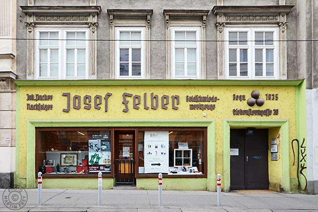 Josef Felber, Juwelier- und Goldschmiedebedarf: 1070 Wien