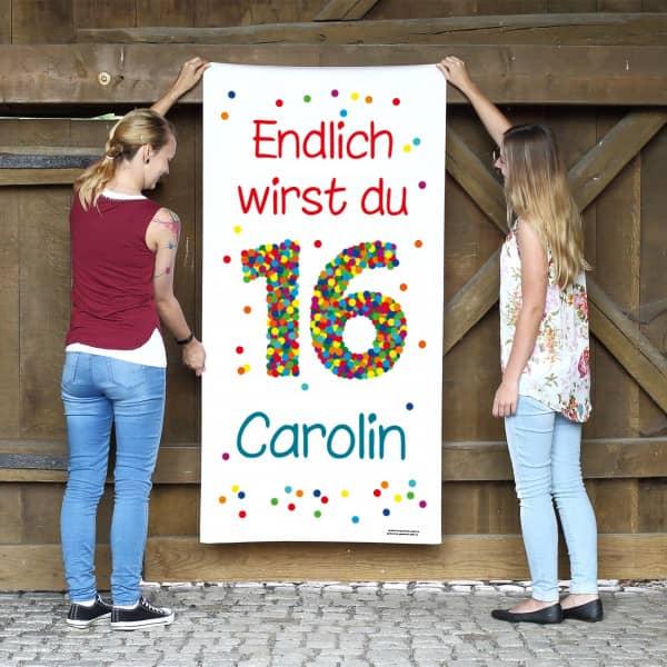 Sprche 3d Geburtstagskarte Mit Glckwnschen In Dosen Zum 16