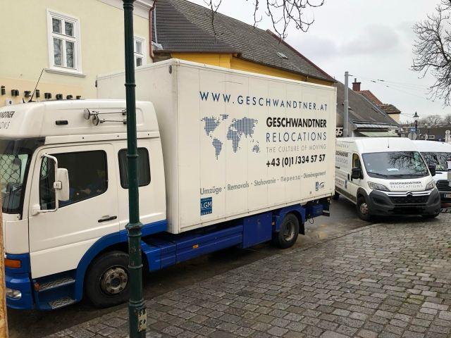 Umzugsfirma Wien Umzugsunternehmen Corona Virus umziehen