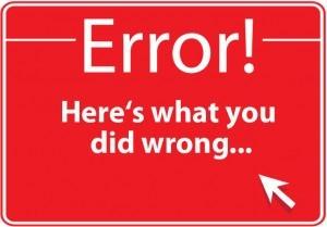 errores en marketing de contenidos