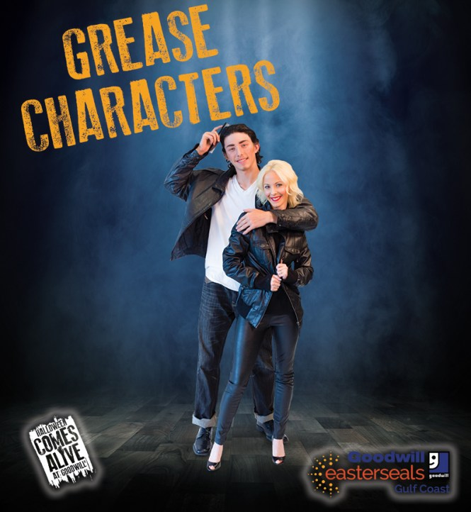 The Characters from Grease